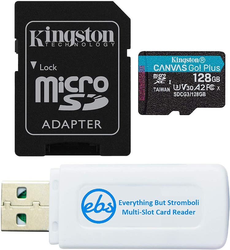 best gopro max sd cards
